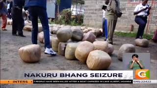 Fuel tanker ferrying 1.5 tonnes of bhang intercepted in Nakuru