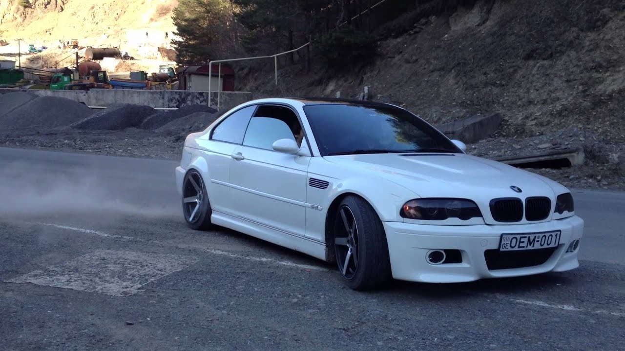 Oem Bmw Wheels >> BMW M3 e46 with vossen wheels OEM-001 - YouTube