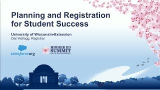 Planning and Registration for Student Success