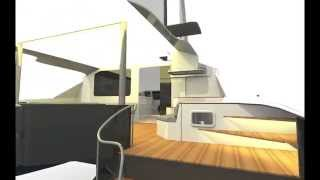 S49 Catamaran by McConaghy Boats, Exterior and Interior Tour