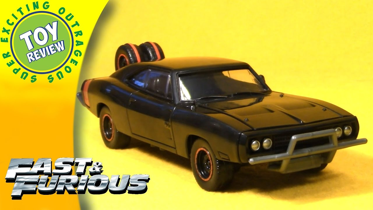Fast Furious Dodge Charger Customizers Vehicle Kit Toy - Epic stunt driving dodge challenger