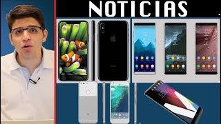 NOTICIAS: iPhone 8, Samsung Galaxy Note 8, Nokia 8, LG V30, Meizu Pro 7 Plus, Google Pixel XL 2017