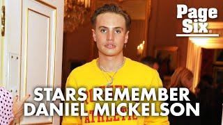 Actor Daniel Mickelson dead at 23: Kaia Gerber, Paris Hilton lead tributes