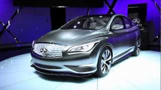 Infiniti Electric Sports Car Concept 2012 Videos
