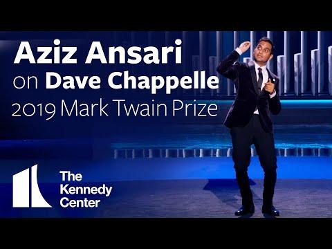 Aziz Ansari on Dave Chappelle | 2019 Mark Twain Prize