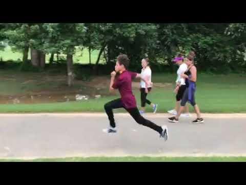 2017 Jim Law Invitational - 200m hurdle warm-up