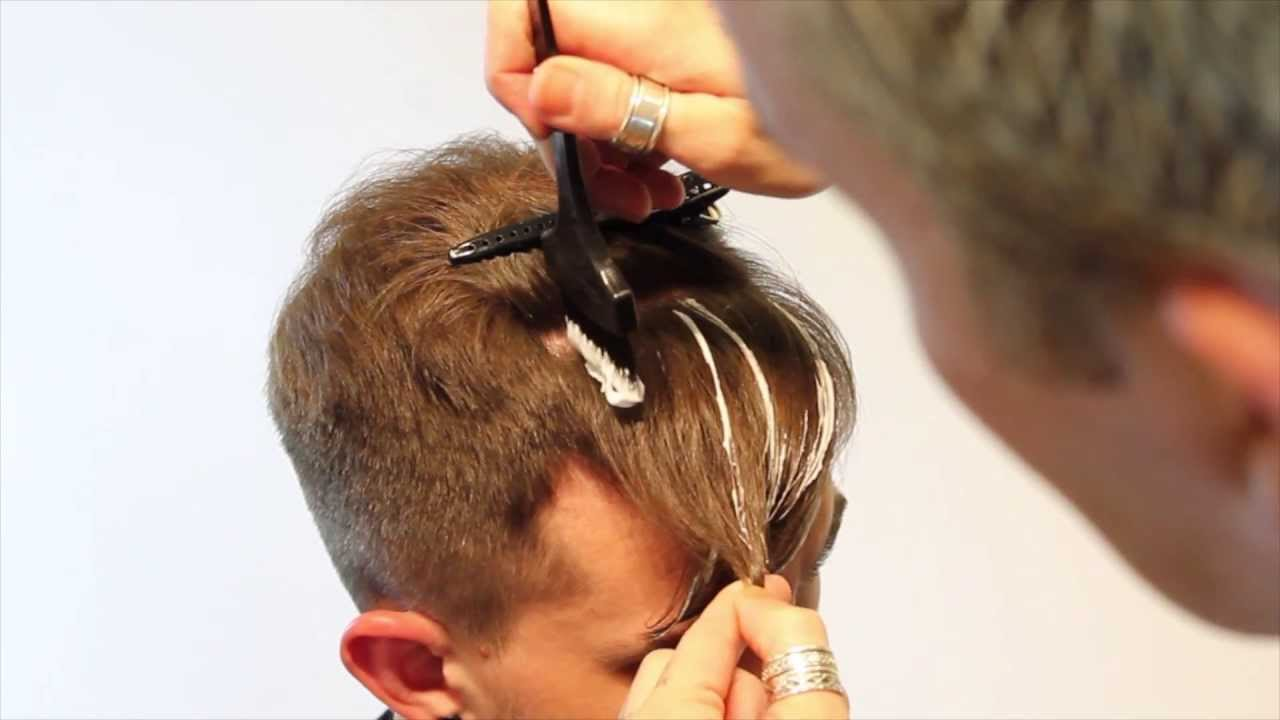 Pompadour haircut- How to Modernize a Pompadour Mens Hair Coloring Highlights
