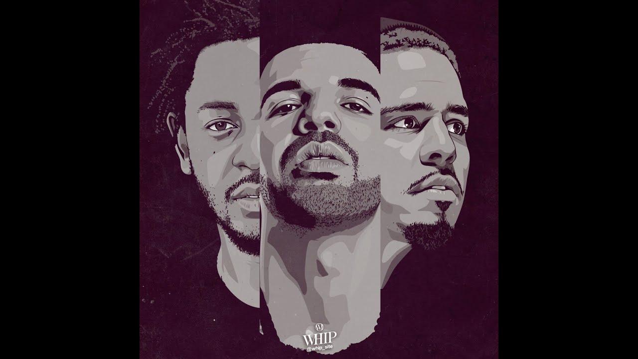 J Cole Eyebrows Vs Drakes Kendrick, Drake...
