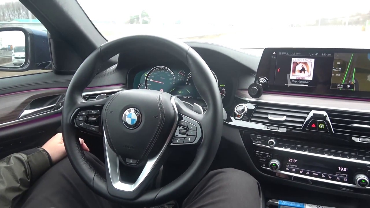 BMW G30 G11 G12 G31 ACC AUTO DRIVING ASSISTANT without Hand Hold coding  E-sys / 터치없이 반자율주행