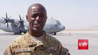 Afghan Pilots Thrilled To Fly Black Hawks / استقبال نیروهای هوایی از دریافت چرخبالهای