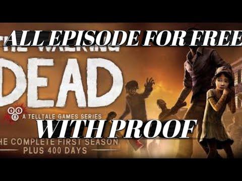 How To Download The Walking Dead Season 1 All Episode Unlock Mod Apk