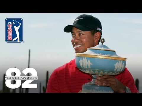 Tiger Woods wins 2008 WGC-Accenture Match Play Championship   Chasing 82