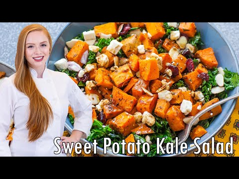 Kale & Sweet Potato Salad