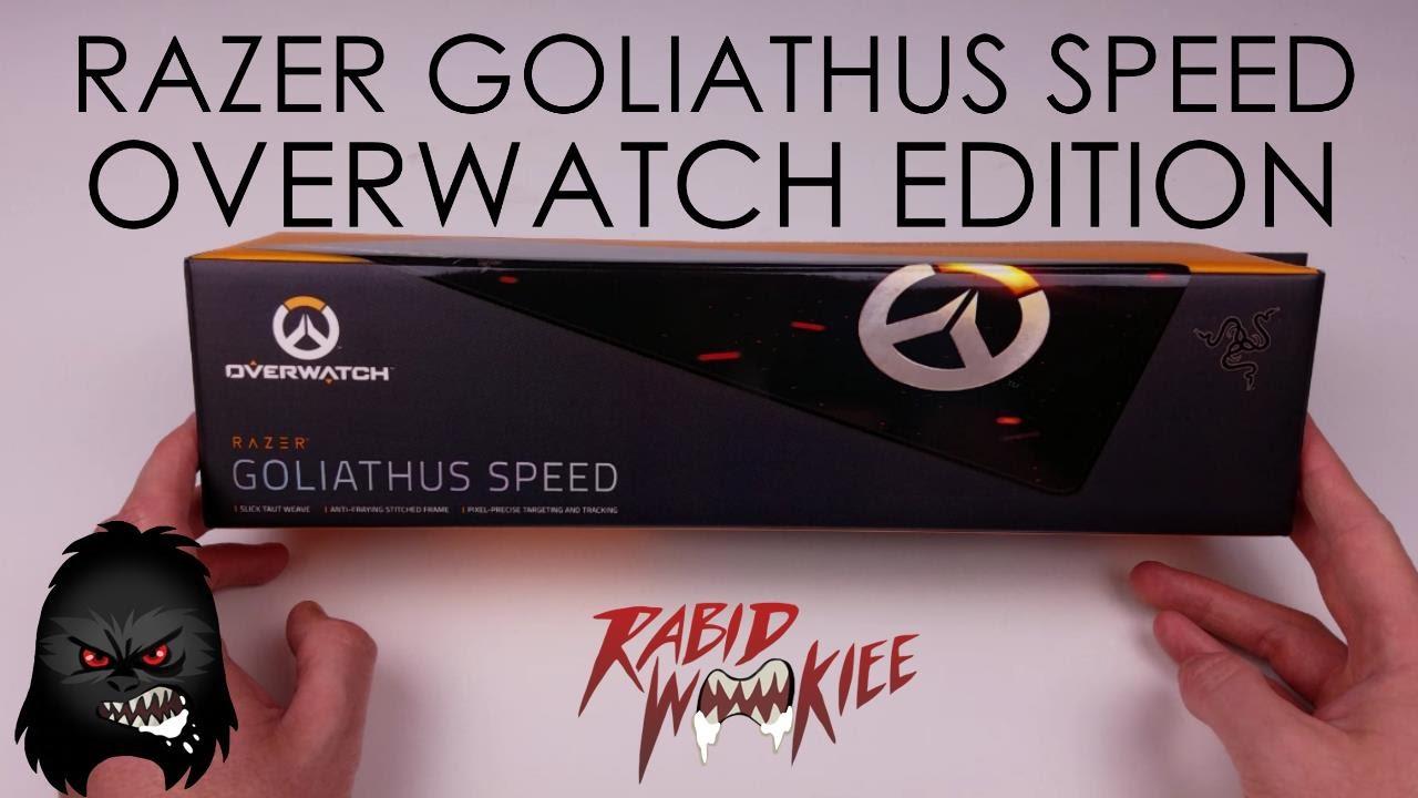 Razer Goliathus Overwatch Edition Unboxing