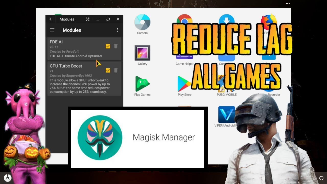 Reduce Lag In Phoenix OS With All Games , Free Fire & PUBG