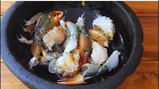 How to clean crab   ഞണ്ട് എങ്ങനെ എളുപ്പത്തിൽ വൃത്തിയാക്കാം