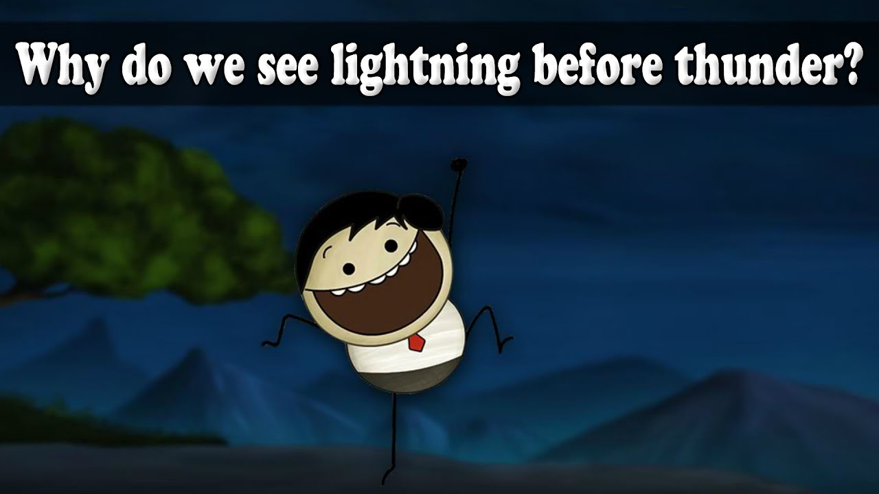 Why do we see lightning before thunder? | Learn Earth Science | Education Videos