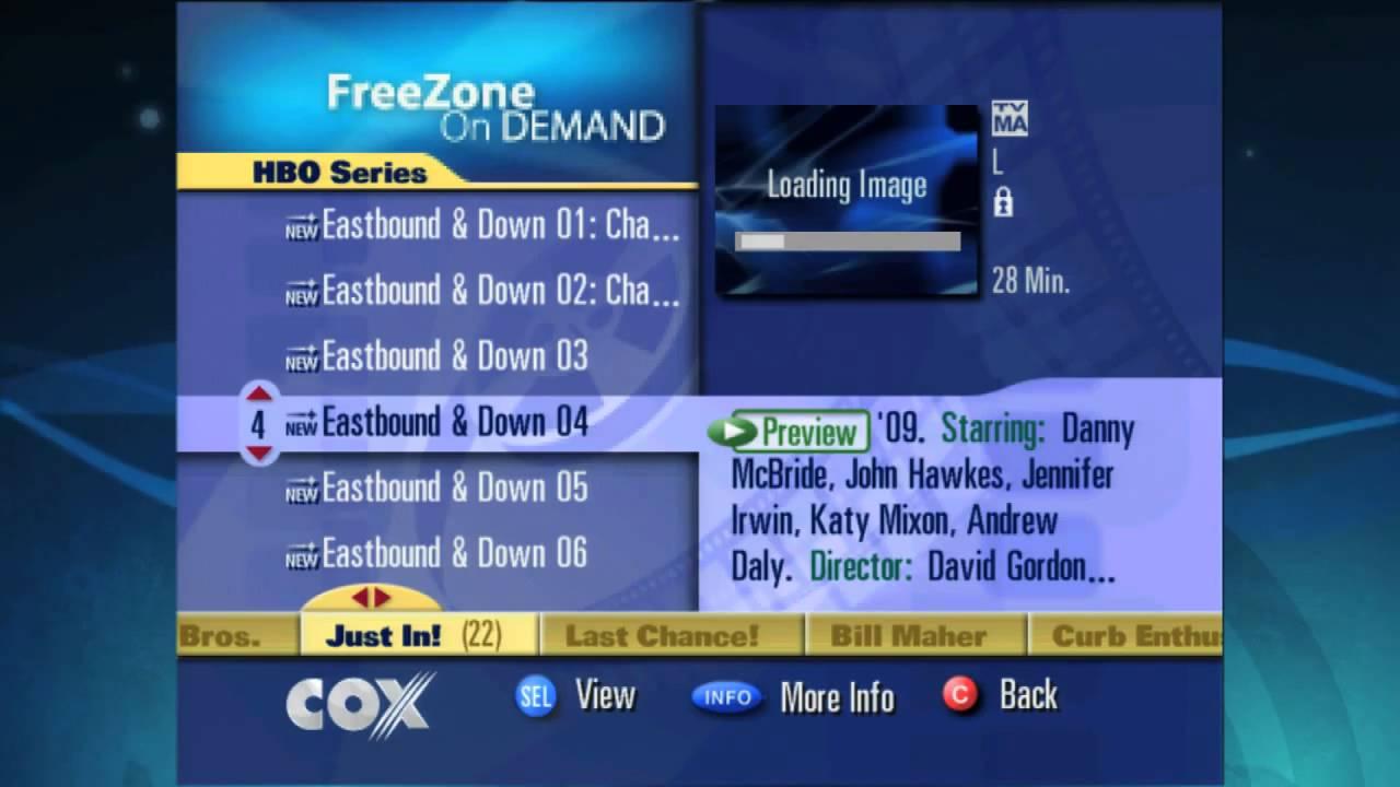 Premium on demand content for cox advanced tv youtube for Premium on demand