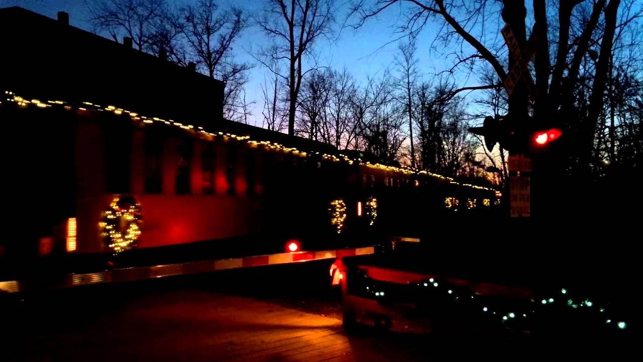 Huckleberry Railroad Christmas Train - YouTube