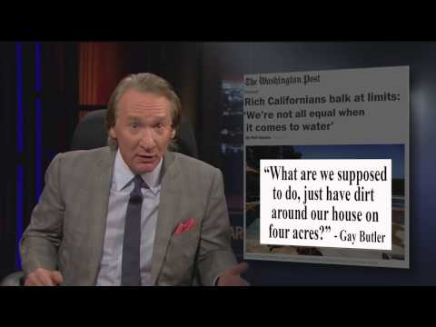 Real Time with Bill Maher: The Sick Culture of Wealth