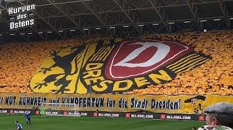 SG Dynamo Dresden 1:1 1. FC Magdeburg 16.03.2019 | Choreos & Support