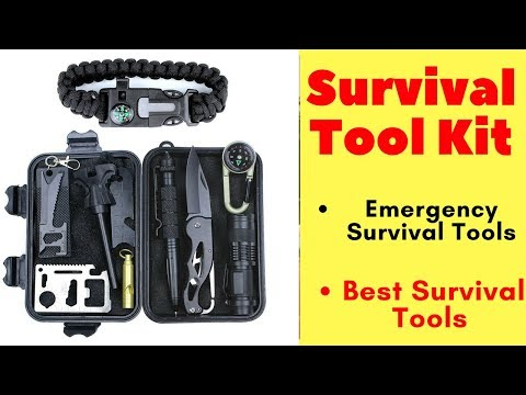 Emergency Survival Kit 11 in 1 - Outdoor survival gear tool Survival Tools kit