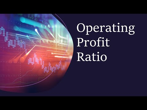 What is meaning of Operating Profit Ratio/Operating Profit Margin