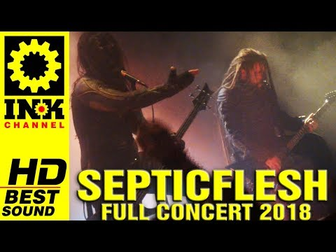 SEPTICFLESH - full concert [14/4/2018 Principal Thessaloniki Greece]