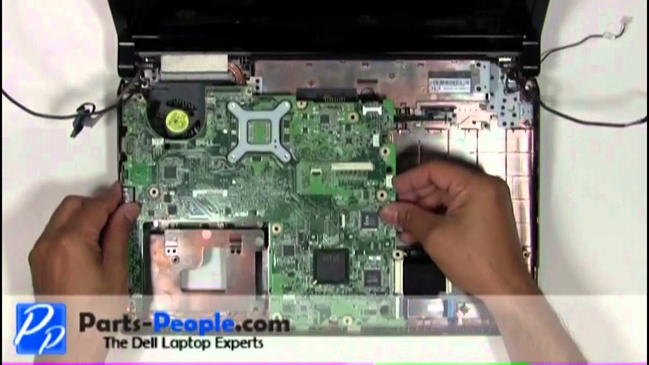 dell studio 1555 1557 1558 motherboard replacement. Black Bedroom Furniture Sets. Home Design Ideas