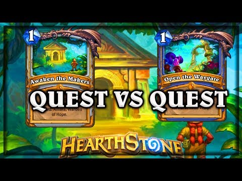 Quest VS Quest 🍀🎲 ~ Knight of the Frozen Throne ~ Hearthstone Heroes of Warcraft