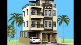 Small 3 Storey House With Roofdeck