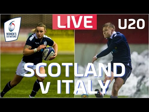 LIVE | Six Nations Women's and U20 v Italy
