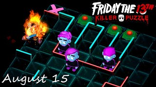 Friday the 13th Killer Puzzle Daily Death August 15 2020 Walkthrough
