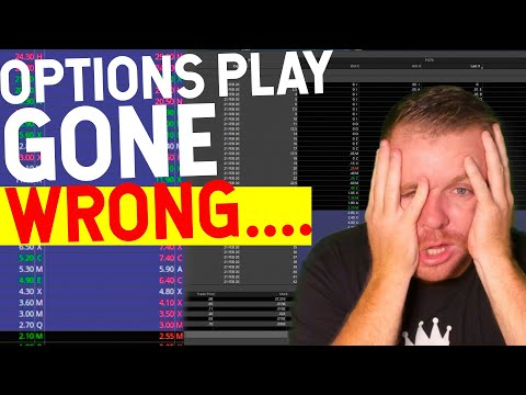 DAY TRADING OPTIONS GONE WRONG…. 100% LOSS