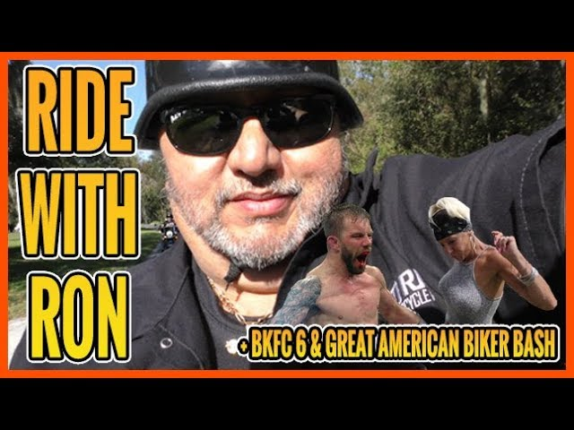 Born To Ride TV Episode 1214 - Ride with Ron - BKFC 6 - Great American Biker Bash