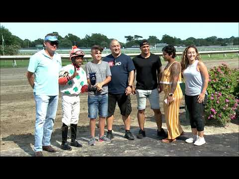 video thumbnail for MONMOUTH PARK 8-9-19 RACE 6