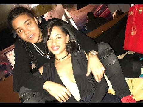 Young MA & Tori Brixx Valentine's Day