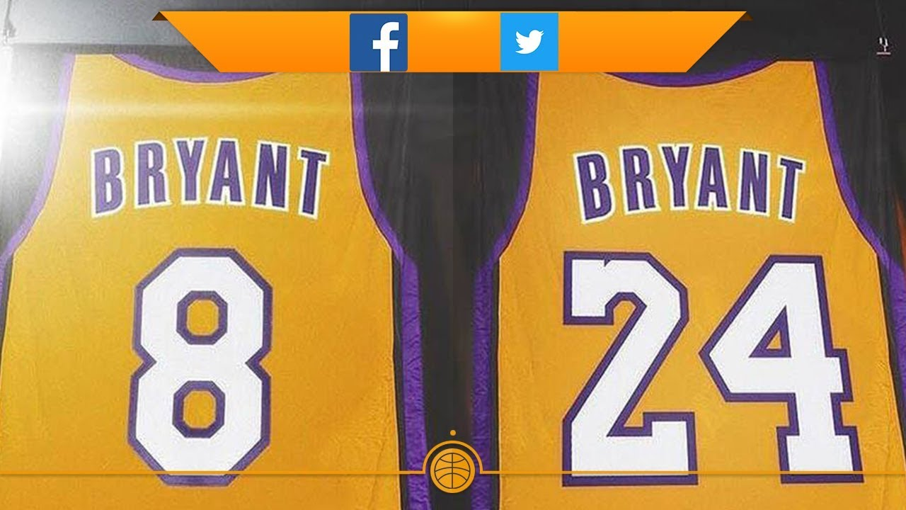 Lakers Retire Kobe Bryant's 8 And 24 Jerseys (NBA Memes Of