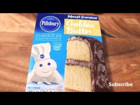 Pillsbury Moist Supreme Golden Butter Premium Cake Mix Youtube