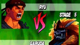 Evil Ryu Vs True Garuda-Street Fighter EX Plus Alpha (HQ)