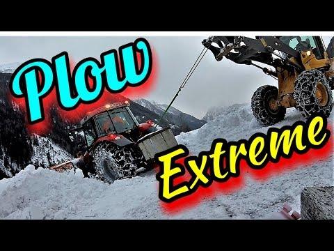 ❄️Winterdienst❄️Schneeräumung🚜Plow Extreme fail🙈