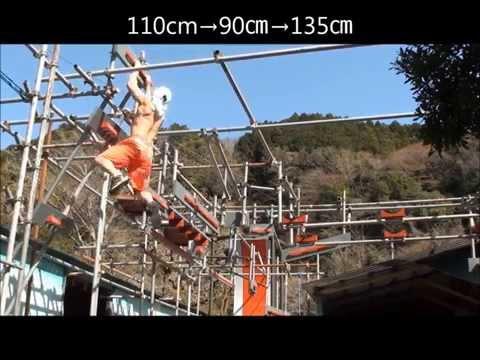 SASUKE トレーニング 13.3.23 (Vertical Limit Crazy Cliffhanger)