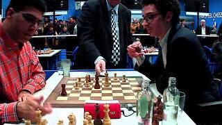 BIG BLUNDER!! Fabiano Caruana vs Viswanathan Anand    Tata Steel Masters 2020 - R8