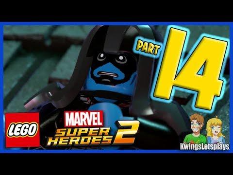 LEGO Marvel Super Heroes 2 Walkthrough Part 14 Black Bolt Speaks to Ronan?