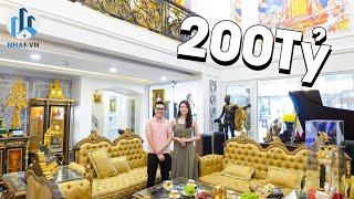 """Choáng Ngợp Trước """"CUNG ĐIỆN VUA"""" PENTHOUSE trị giá 200 Tỷ Đồng tại D'. Le Pont D'or - NhaF [4K]"""