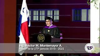 Discurso de Toma de Posesión - Ing. Héctor M. Montemayor A. - Rector de la UTP