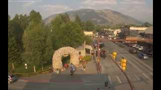 Jackson Town Square - SeeJacksonHole Webcams thumbnail