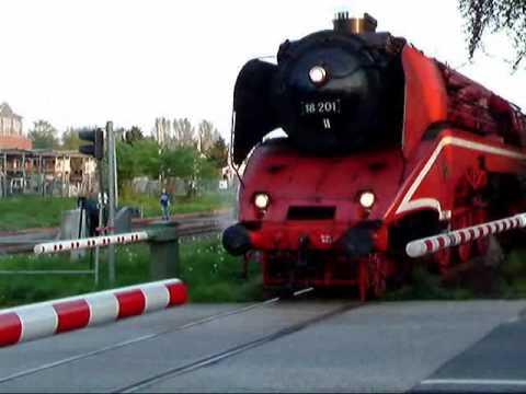 Steamlocomotive BR18 201
