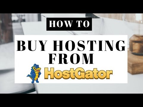 How To Buy Hosting From Hostgator | Hostgator Web Hosting Tutorial 2018