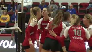 SEMO Volleyball | Redhawks fall to Morehead State in OVC Tournament - Nov. 15, 2018